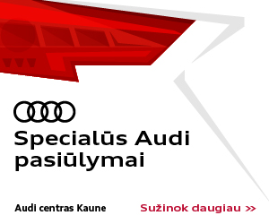 Specialūs Audi pasiūlymai