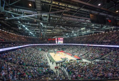 """Krepšinio ir koncertų lankytojus """"Žalgirio"""" arena džiugins nemokamu interneto ryšiu"""