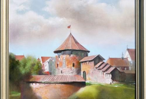 Dailininko Bonaventūro Šalčio tapybos darbų kolekcijos paroda