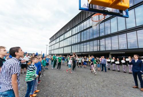 """Prieš LKL finalo rungtynes prie """"Žalgirio"""" arenos kvies fanų zona"""