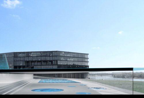 """Ketinama statyti daugiafunkcinį vandens sporto centrą šalia """"Žalgirio"""" arenos"""