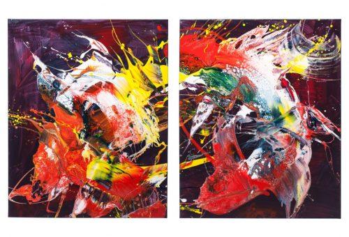 """Irenos Urbonienės tapybos darbų paroda """"Emocijos"""""""