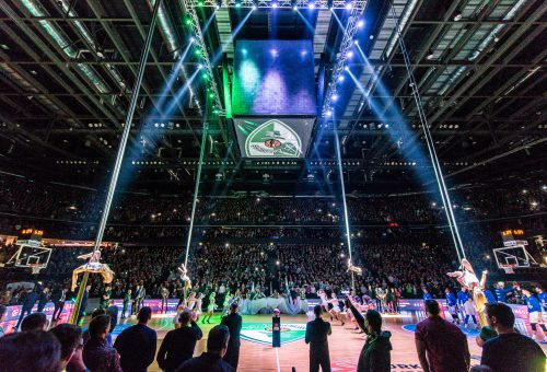 Zalgirio Arena hosts its 5 millionth guest