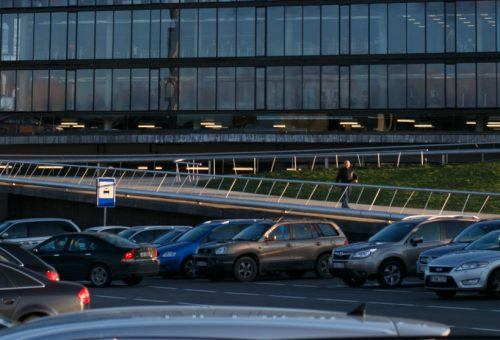 New parking system installed in Zalgirio Arena