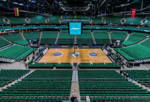 """Galimybė krepšinio mėgėjams – pažaisti """"Žalgirio"""" arenos didžiojoje aikštėje"""
