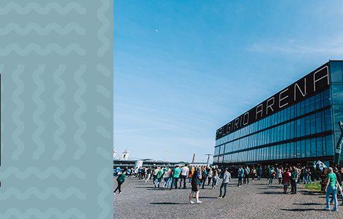 The Pakrante entertainment area set to open back up besides Zalgirio Arena