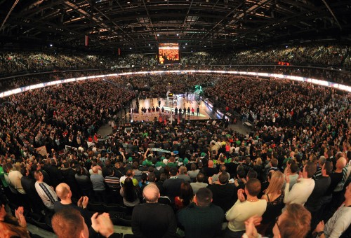 Zalgiris Arena – sole leader in the country