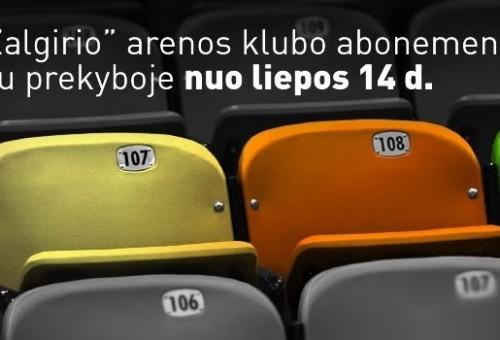 """Krepšinio sirgaliai šluoja abonementus į """"Žalgirio"""" areną (VIDEO)"""