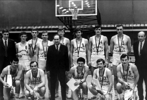 Legendinis treneris degė krepšinio aistra
