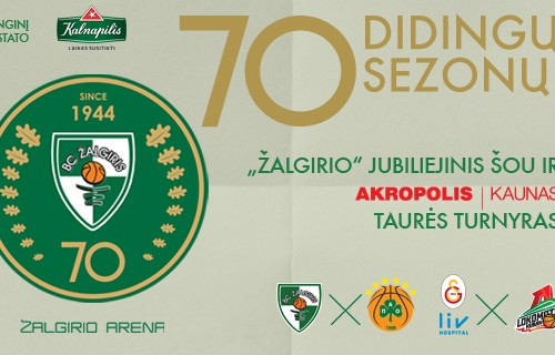 Zalgiris 70th Anniversary – the tournament with Europe's best