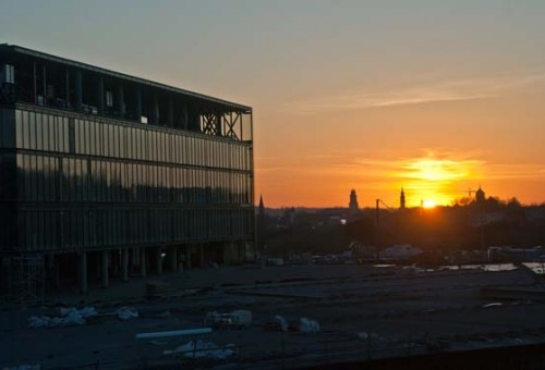 Kauno arena: statybos finišo tiesiojoje